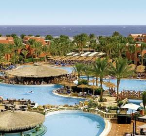 Club Sharm-el-Sheikh Luftbild-Poollandschaft - MAGIC LIFE.com