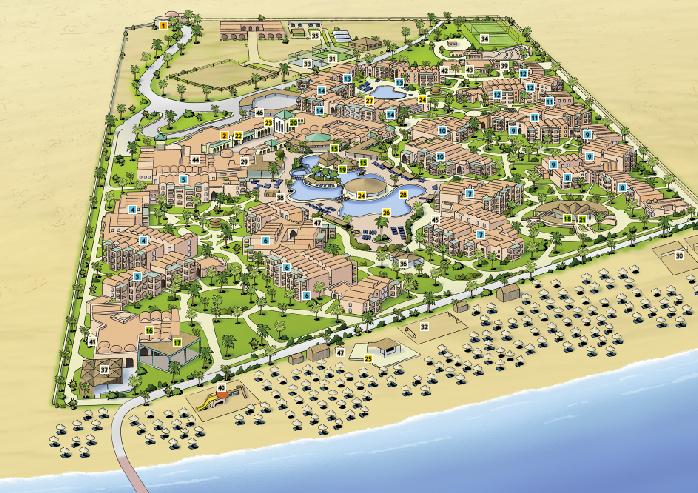 Lageplan Club Sharm el Sheikh