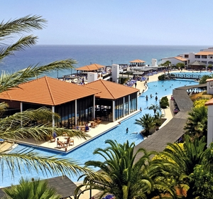 Club Fuerteventura Poolbereich von Oben - MAGIC LIFE.com