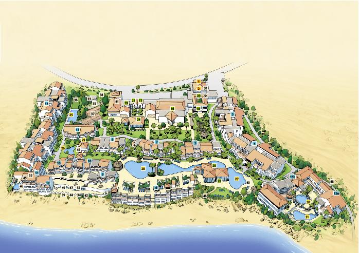 Lageplan Club Fuerteventura