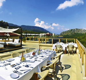 Club Sarigerme Restaurant-Terrasse-Aussicht - MAGIC LIFE.com