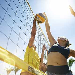 Das Beach Volleyball Event bei TUI MAGIC LIFE