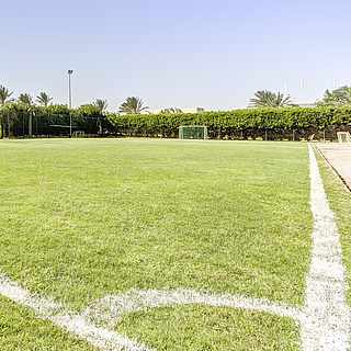 Fußball Platz Im Club Kalawy