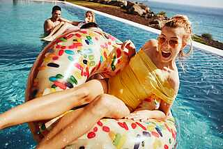 Urlaub mit Freunden über MAGICLIFE.com