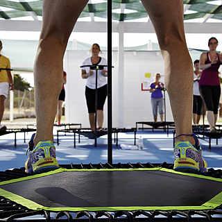 Trampoline Jumping im Gruppenkurs