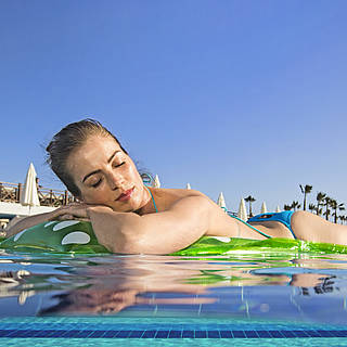 Entspannen am Pool