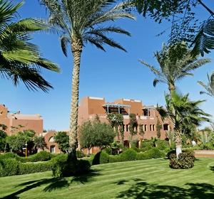 Club Sharm El Sheik in Ägypten schöne Außenanlage mit Garten  - MAGIC LIFE.com