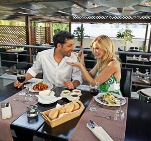 Club Mamari Palace Essen und Trinken retsaurant al Baccio- MAGIC LIFE.com