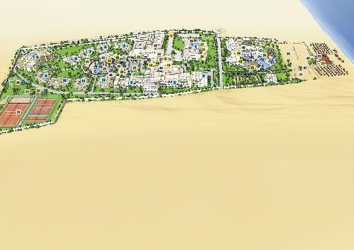 Lageplan Penelope Beach